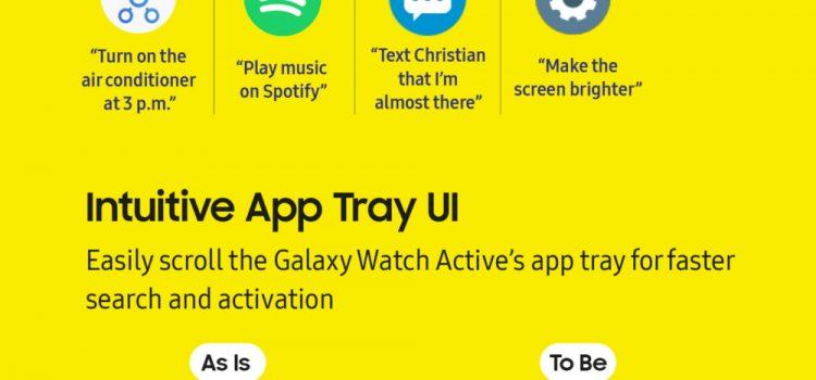 Smarter, Sportier, Snazzier: The Galaxy Watch Active's Latest Updates