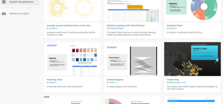 Do more with Data Studio Community Visualizations