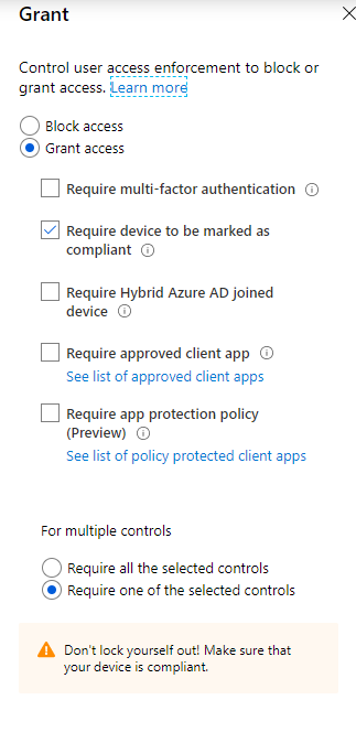 conditional-access-policy-compliant-devices-on-android-devices