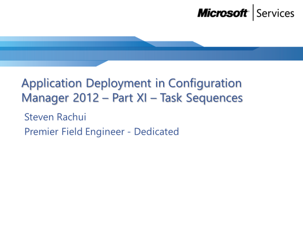 video-tutorial:-task-squences-–-application-deployment-part-11