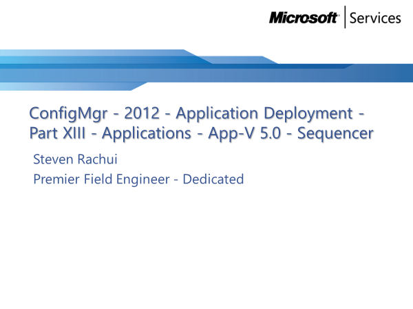 video-tutorial:-app-v-5.0-sequencer-–-application-deployment-part-13