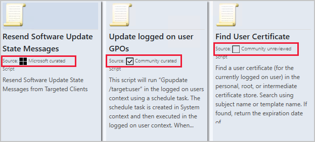 categorize-community-hub-content-with-configuration-manager-technical-preview-2011