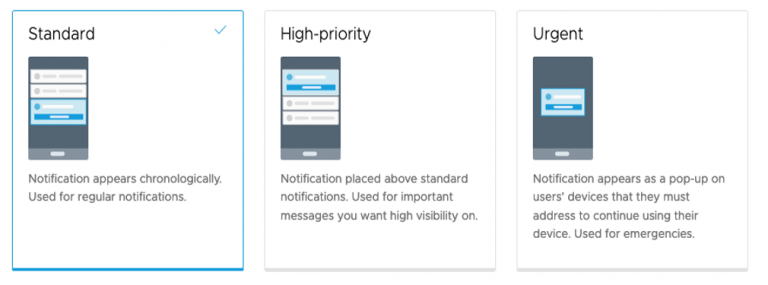 Using Workspace ONE Notifications in Intelligent Hub for Critical Communications in Healthcare