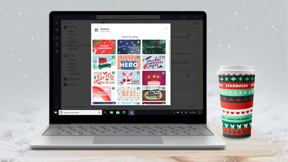 the-starbucks-app-in-microsoft-teams—a-new-way-to-show-appreciation-for-your-colleagues-this-holiday-season-and-beyond