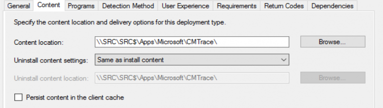 How to deploy a .xml as part of a Available Application install?