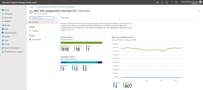 Endpoint Analytics is now generally available in Microsoft Endpoint Manager