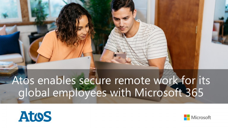 Atos adopts Microsoft 365 to enable secure remote work for all employees
