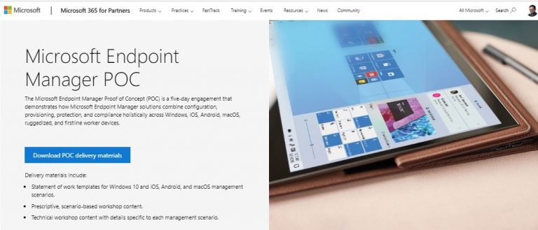 Now Available: Microsoft Endpoint Manager Proof of Concept (PoC) Guidance