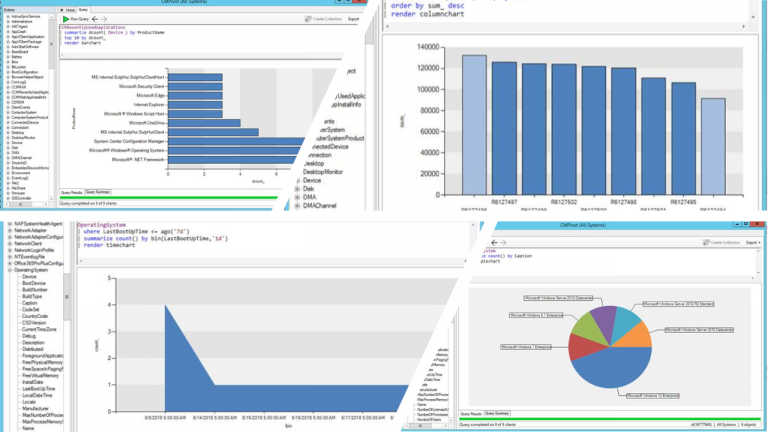 Visualize CMPivot results in Configuration Manager Technical Preview 1809