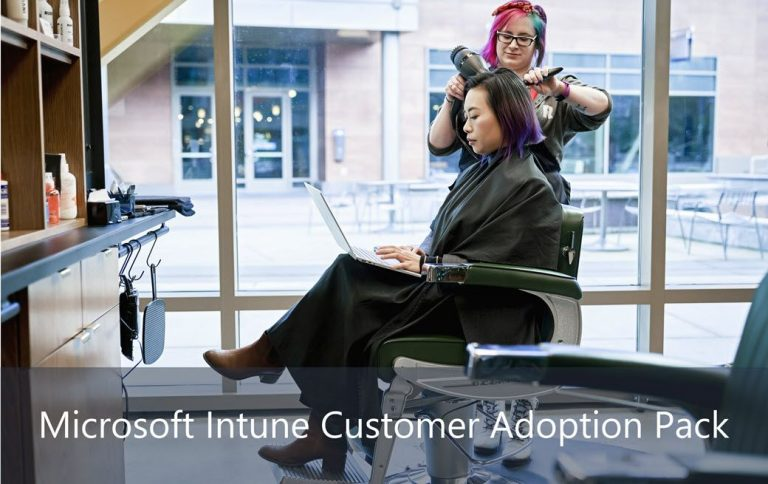 Microsoft Intune customer adoption pack is now available