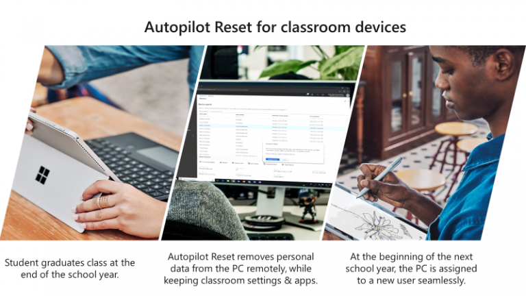 Introducing Remote Autopilot Reset in Intune for Education