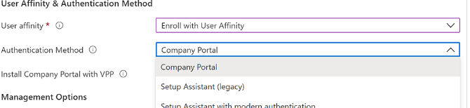 No apps appearing in company portal (windows, ios and iphone)