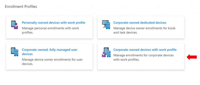 Announcing general availability of Android Enterprise corporate-owned devices with a work profile